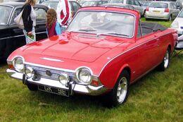 Ford Corsair Convertible reg 1967
