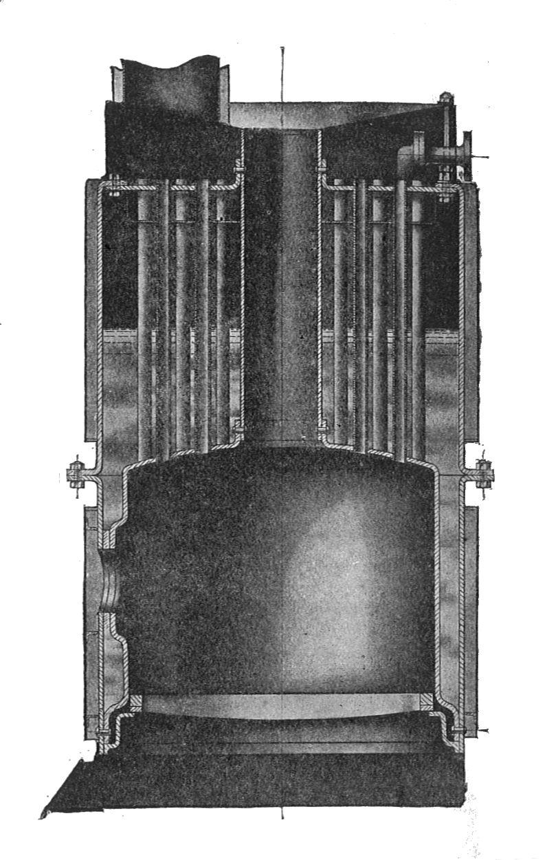 Image - Leyland steam wagon boiler, section (Rankin Kennedy, Modern ...