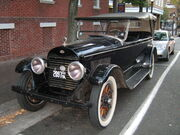 1922 Lincoln touring automobile