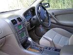 Beige automobile interior