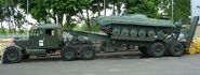 A 1950s Scammell Pioneer Army Tank Transporter