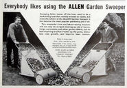 A 1960s Allen Of Oxford Manual Gardensweepers