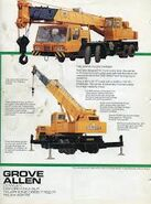 A 1990s ALLEN-GROVE Cranetruck 25T