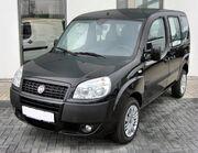 Fiat Doblo Facelift 20090808 front
