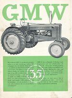 GMW 35 b&w brochure
