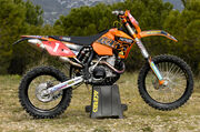 WEC E2 enduro bike