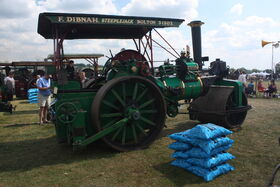 Aveling & Porter no. 7632 RR - Betsy DM 3079 at Hollowell 2011 - Picture 166