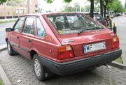 FSO Polonez GLI red rear-view