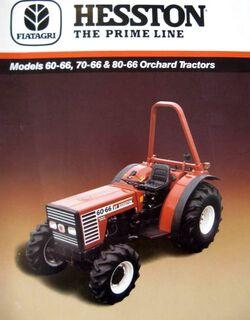 Hesston 60-66 DT MFWD orchard - 1988