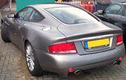 Aston Martin Vanquish S hl silver