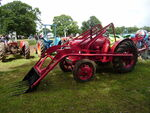 David Brown Cropmaster and Loader - JCJ 233 at Bromyard 08 - P7060166