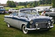 Ford Zodiac 206E Convertible 1960 front