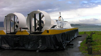 Hovercraft, Petone, Wellington 15 July 2005
