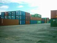 Kuantan Port Container Yard (View 2)