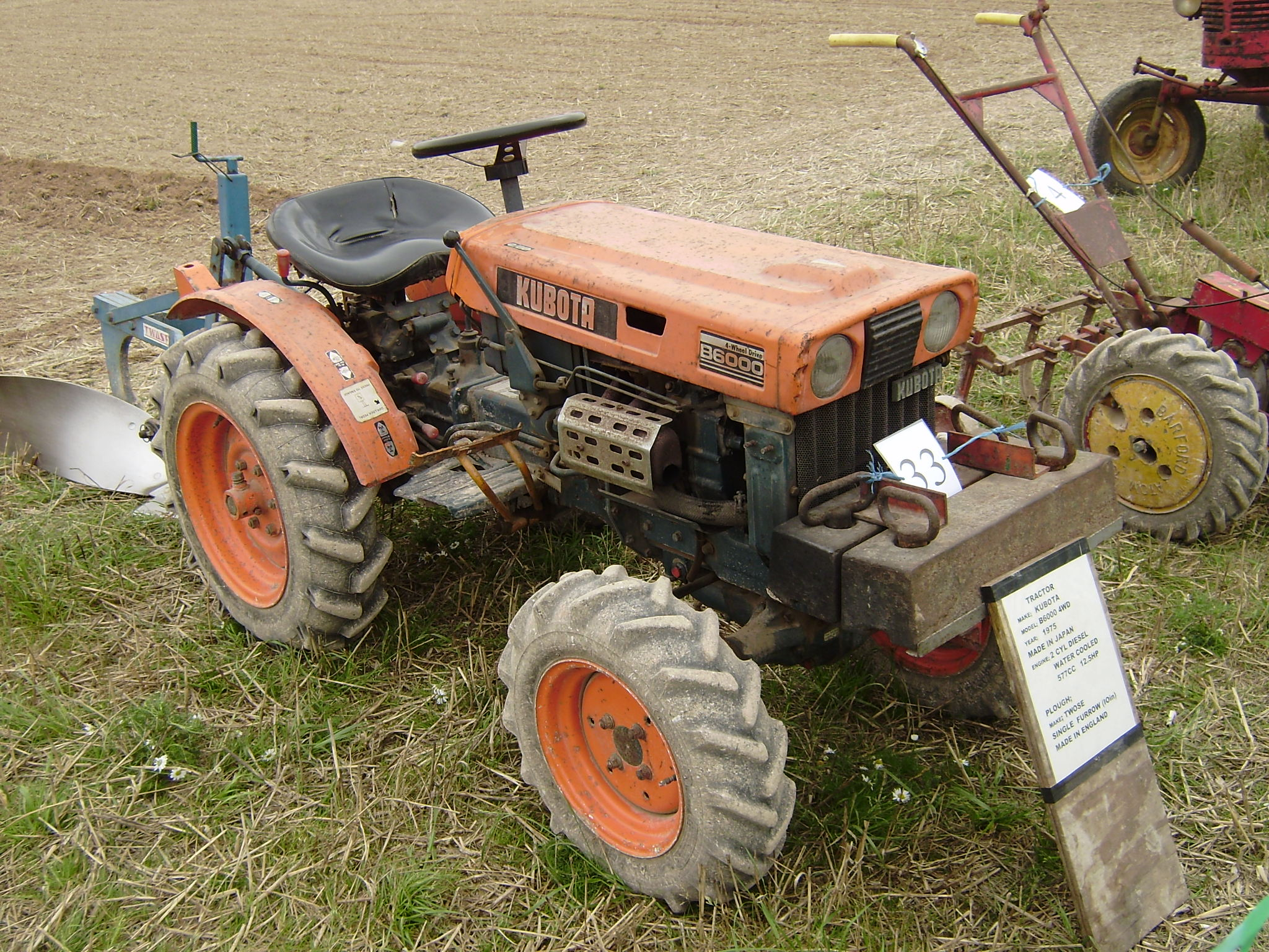 kubota b6000 tractor construction plant wiki fandom powered by rh tractors wikia com
