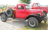 Red Dodge Power Wagon