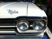 66marlinFastback white hood nameplate and headlights