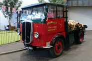 A 1940s Thornycroft Bulldog lorry