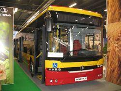 Autosan M12LE Sancity - Transexpo 2009