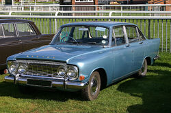 Ford Zodiac MkIII front