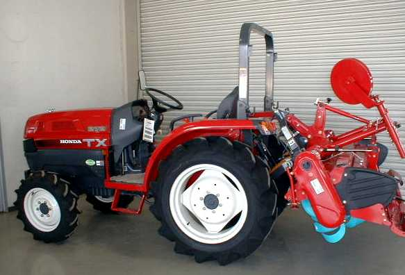 Latest Cb on Honda Tractors And Implements