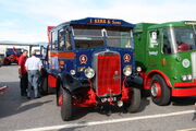 Leyland Hippoe recovery wagon (UP6013) at Exelby services 2013 - IMG 1972