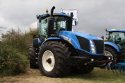 New Holland T9.560 at Maldon Essex 11 - IMG 4956