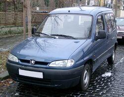 Peugeot Partner front 20071227