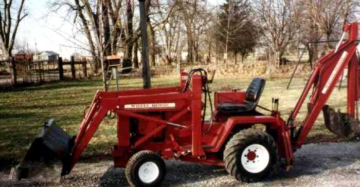 Wheel Horse D-200 | Tractor & Construction Plant Wiki