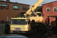 A 1980s ALLEN H4064 Cranetruck Hydraulic Diesel