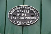 Bomford & Evershed living van - mfc plate. at Preston Rally - IMG 3188