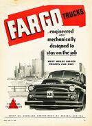 Fargo pickup ad - 1952