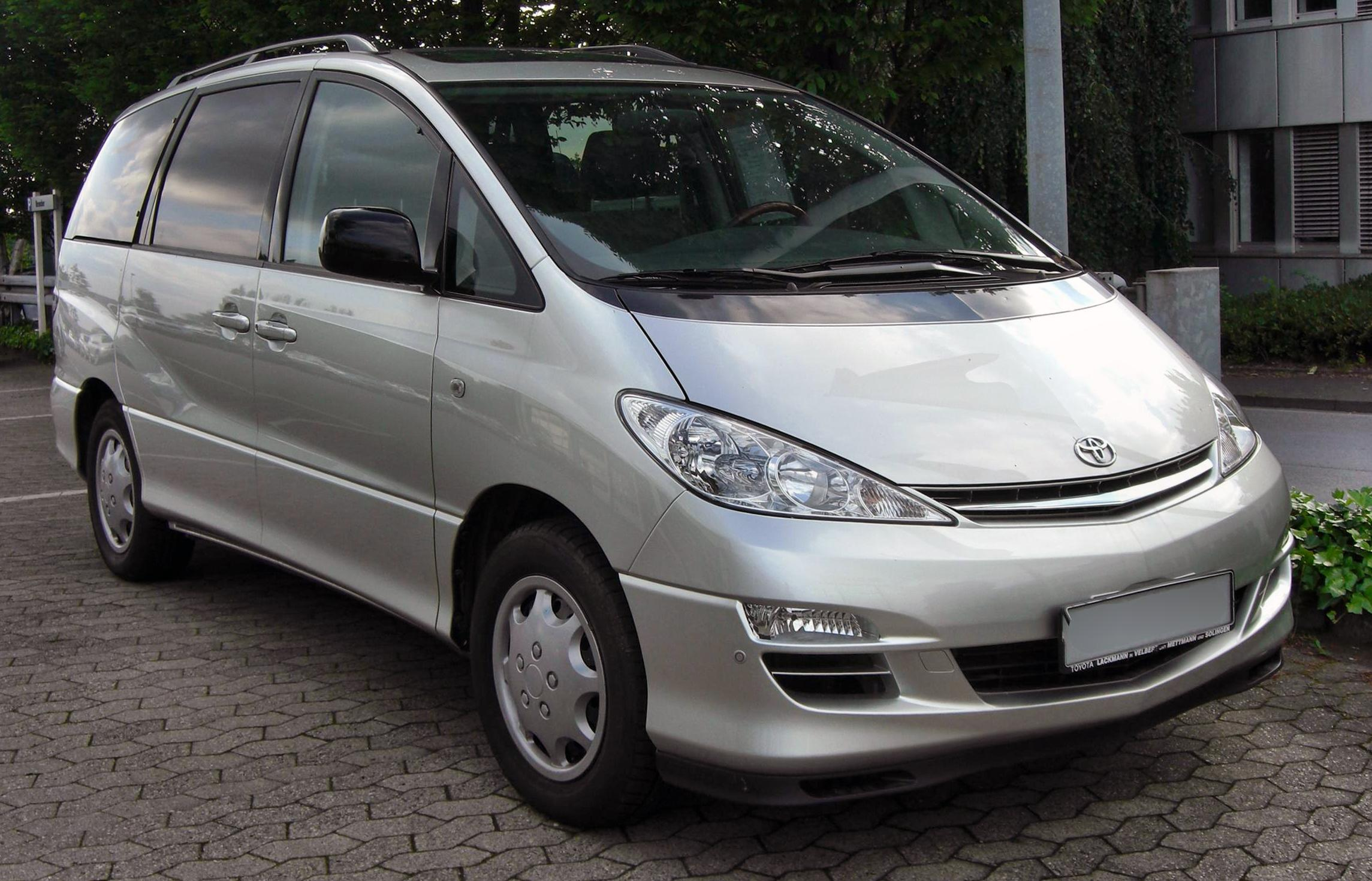 Toyota Previa | Tractor & Construction Plant Wiki | FANDOM powered by Wikia