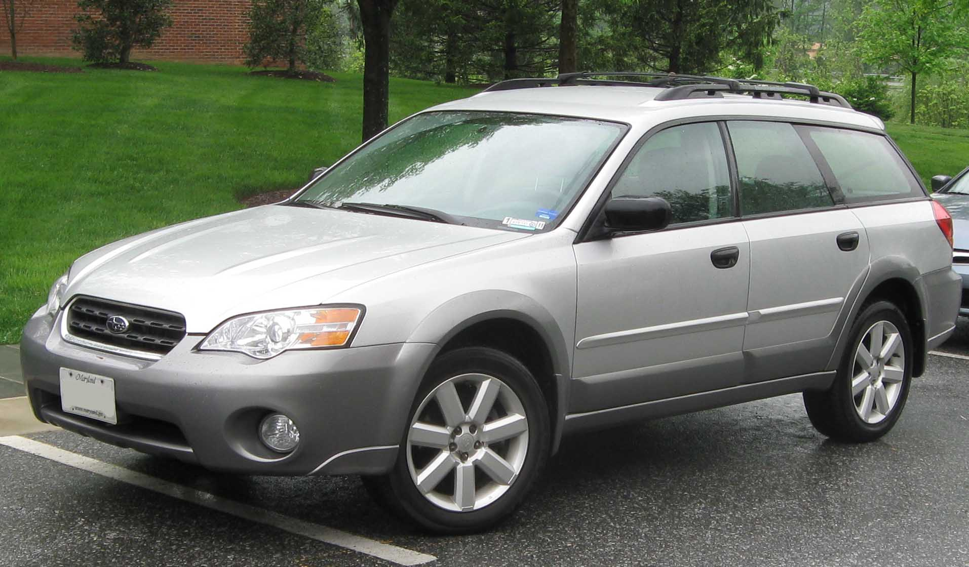 Subaru Outback Tractor & Construction Plant Wiki