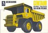 A 1970s Aveling Barford Centaur Dumptruck Diesel