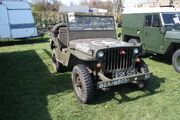 Jeep US Army (ESK 525) at Kirkby Stephen 2014 - IMG 5485