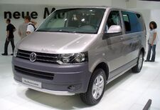 VW T5 PanAmericana Facelift