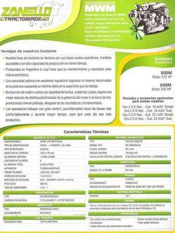 Zanello (Tractomade) brochure pg2 - 2013