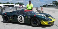 Ford GT40 P-2090 at Road America