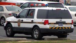 Pennsylvania State Police SUV