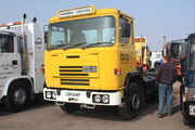 Seddon Atkinson tractor unit LBR 614P (national carriers) at Donnington Park 09 - IMG 6090small