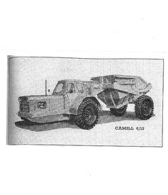 1964 CAMILL Muir-Hill 610 ADT Diesel