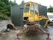 A 1980s Smalley 425 Minidigger Diesel
