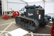 Clayton chain tractor at Newark 2012 - IMG 4156