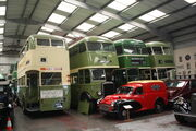 Linconshire Road Transport Museum interior 09 - IMG 1240