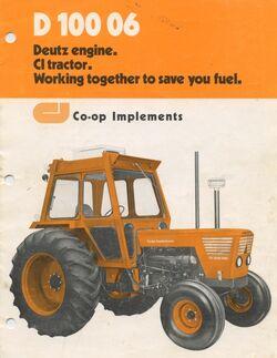 Co-op Implements D 100 06 brochure