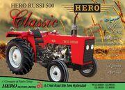 Hero Russi 500 Classic brochure (front) - 2011