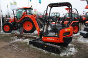 Kubota KX018-4 + Tree shear at Lamma 2013 - IMG 6440