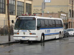 NYC Police Department TMC RTS 9598
