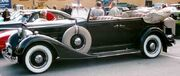 Packard 1101 Eight Convertible Sedan 1934